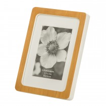 Casa Retro Picture Frame 5x7, White/natural