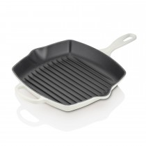 Le Creuset Cast Iron Square Grillit 26cm, Cotton