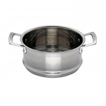 Le Creuset 3ply Steamer, 20cm, Stainless Steel