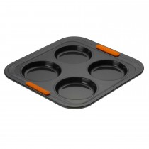 Le Creuset Bak 4 Cup Yorkshire Pudding, Black