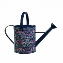 Briers Strawberry Thief Watering Can, Blue