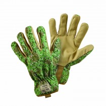 Briers Honeysuckle Gardeners Glove M, Green
