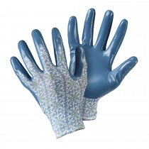 Briers Moroccan Tile Seedling Glove, Blue