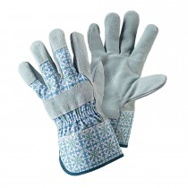 Briers Moroccan Tile Rigger Glove M, Blue