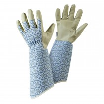 Briers Moroccan Tile Gauntlet Glove M, Blue