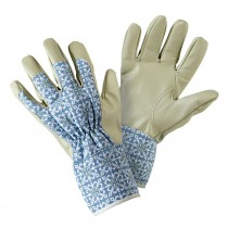 Briers Moroccan Tile Gardener Glove M, Blue