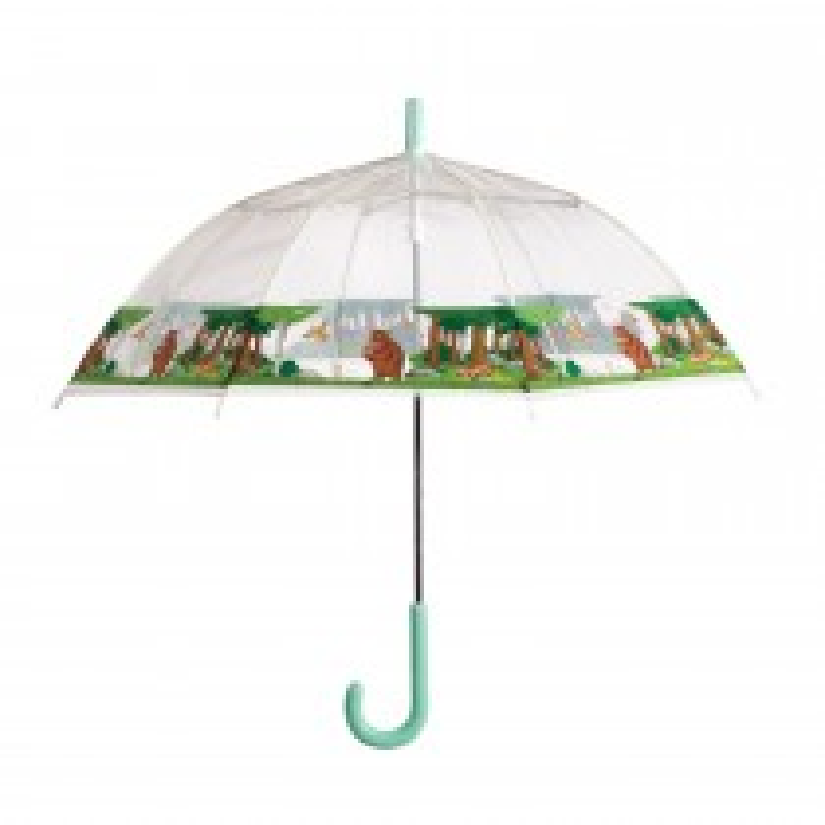 Briers Gruffalo Clear Umbrella, Multi