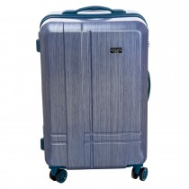 "Casa 24"" Roller Case, 8 Wheel, Petrol Blue"