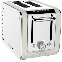 Dualit Architect 2 Slot Toaster, White