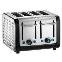 Dualit Architect 4 Slot Toaster, Brushed Stainless Steel