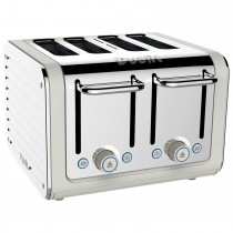 Dualit Architect 4 Slot Toaster, White