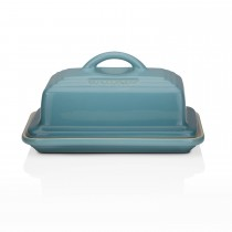 Le Creuset  Butter Dish, Teal
