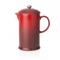 Le Creuset Coffee Pot & Press, Cerise