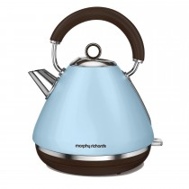 Morphy Richards Pyramid Kettle, Azure