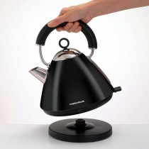 Morphy Richards Pyramid Kettle Black