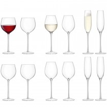 Lsa Aura Wine/water Set, Clear