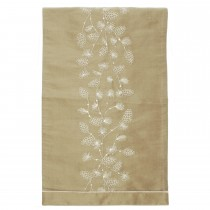 Walton And Co Embroidered Larch Runner, Gold