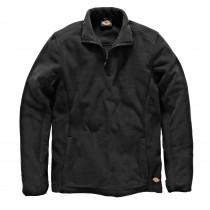 Dickies Medium Two Tone Micro Fleece, Black/Grey