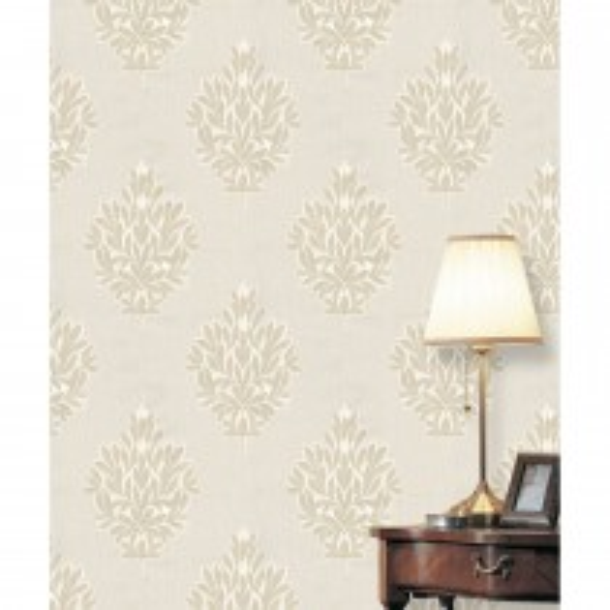 Belgravia Jewel Wallpaper, Natural