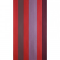 Farrow And Ball Chromatic Stripe Wallpaper 42-03, Red