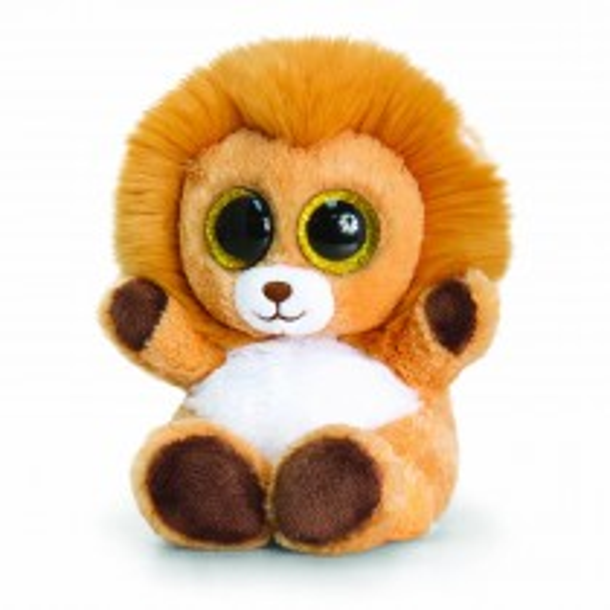 Keel Toys 15cm Animotsu Lion, Brown