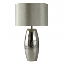 Casa Table Lamp Painted, Chrome