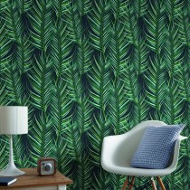 Graham And Brown Palm Leaves, Green