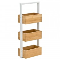 Casa 3 Tier Bamboo Caddy Holder