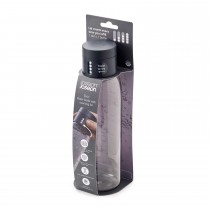 Joseph Joseph Dot Hydration-tracking Bottle, Grey