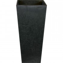 Ivyline Vase Ella Black Large, Black