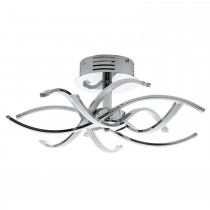 Casa Bosworth 6 Ceiling Light, Chrome
