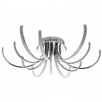 Casa Scarlet 12 Ceiling Light, Chrome