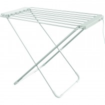 Heated Airer, White/silver