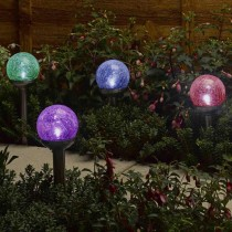 Smart Garden Rainbow Nickel Stake Light