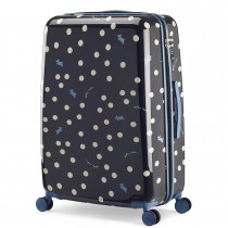Radley Vintage Dog Dot 8 Wheel Trolley, Large