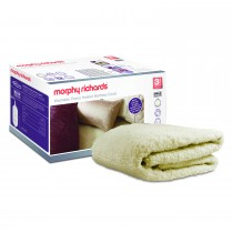 Morphy Richards Fleece Double Mattress Cover