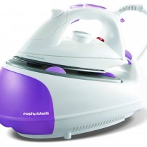 Morphy Richards Non Pressurised Jet Steam Iron, White & Purple