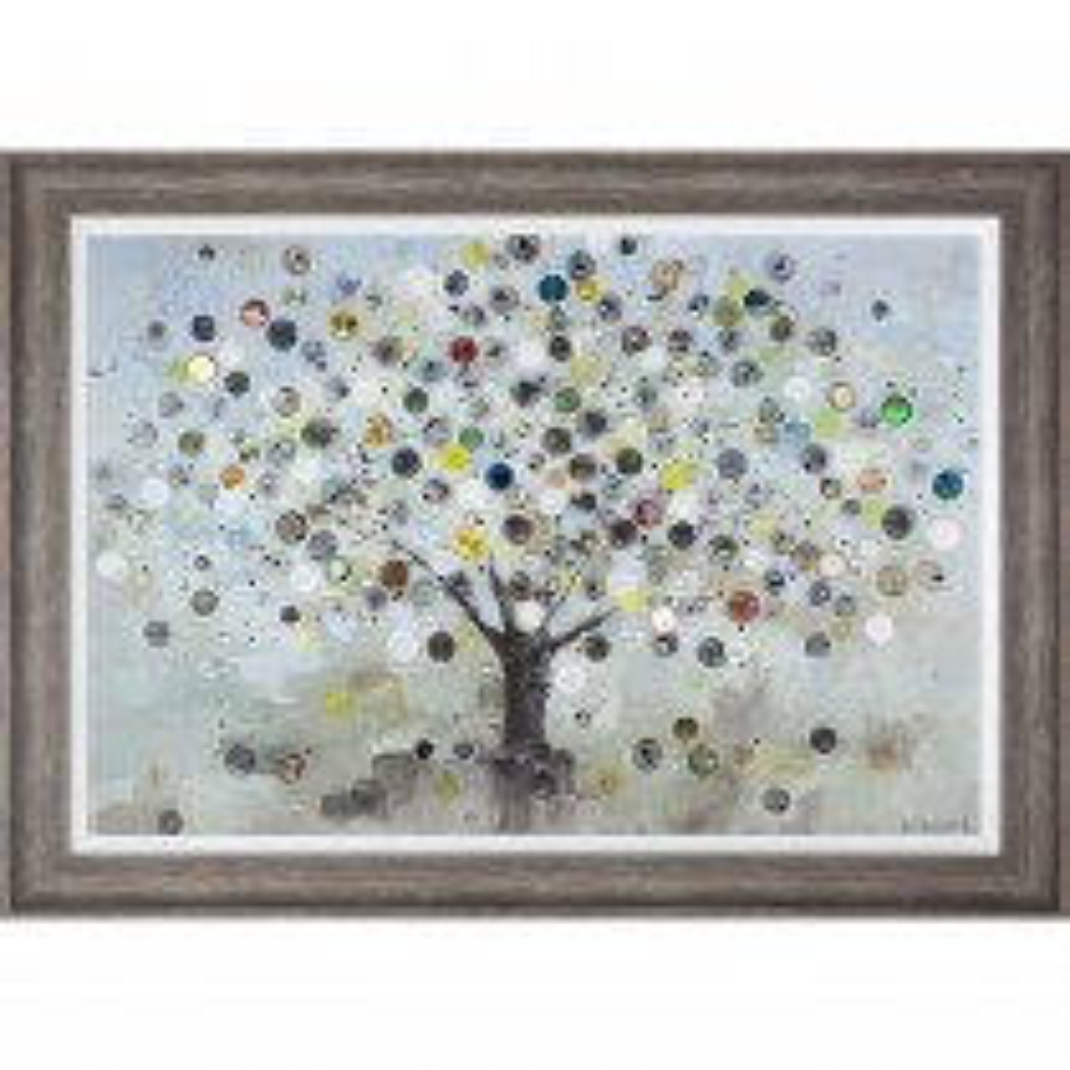 Art Marketing Watch Tree Framed Picture