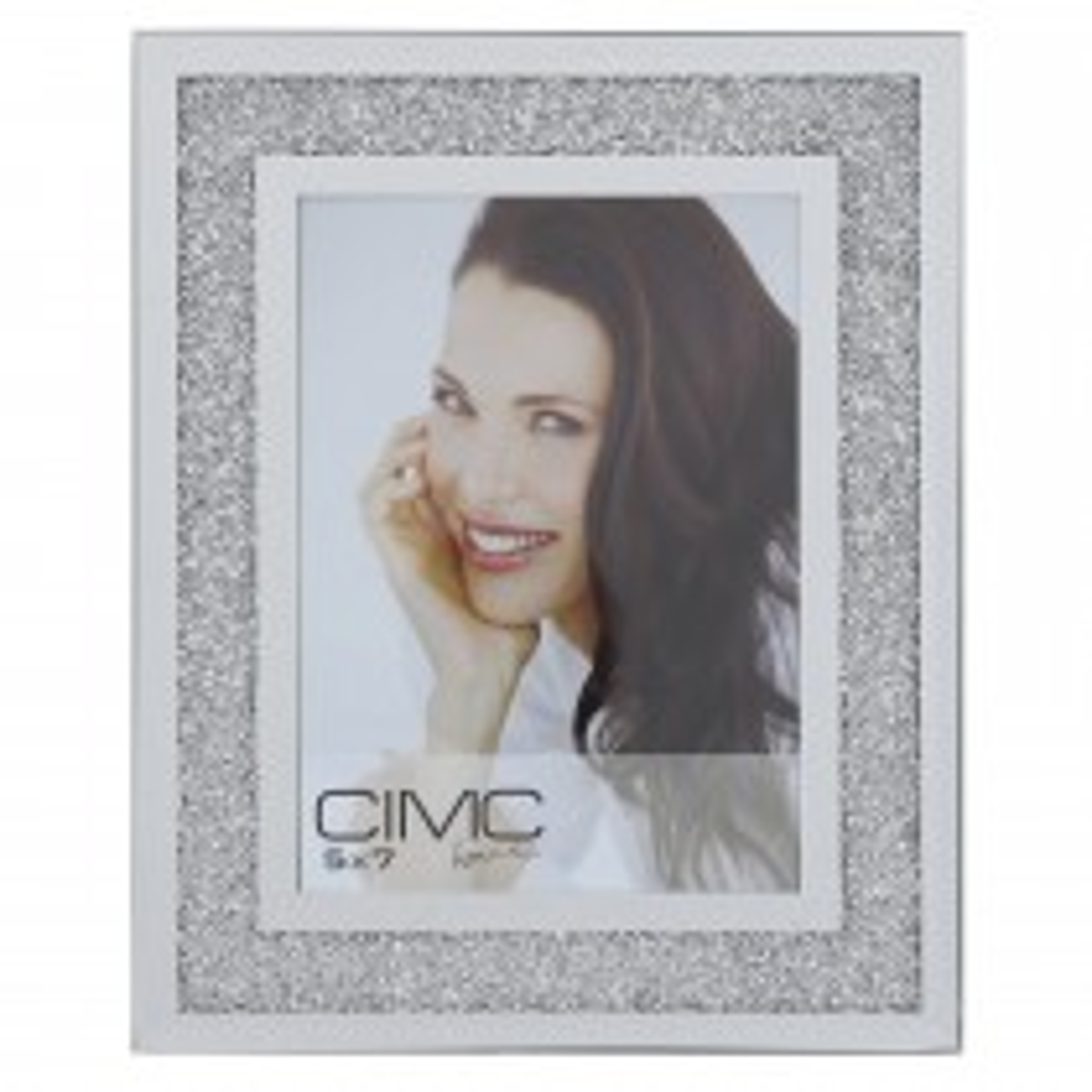 Casa Milano Photo Frame (5 X 8), Silver