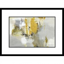 Natasha Barnes Mustard Seed Framed Art, Yellow