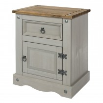 Corona 1 Door 1 Drawer Bedside