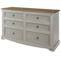 Corona 3+3 Drawer Wide Chest