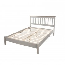 Connor Double Slatted Low End Bed Frame