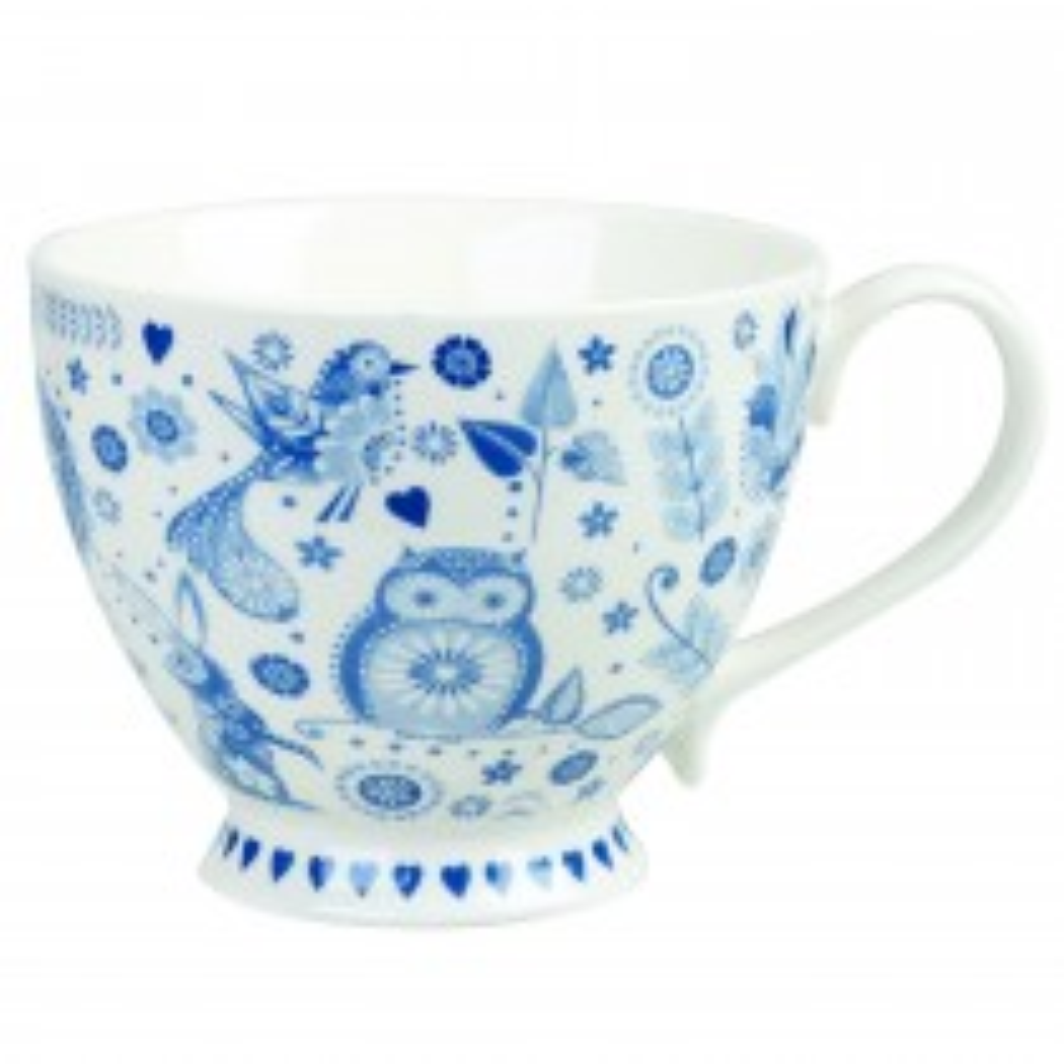 Churchill China Penzance Petal Tea Cup, White