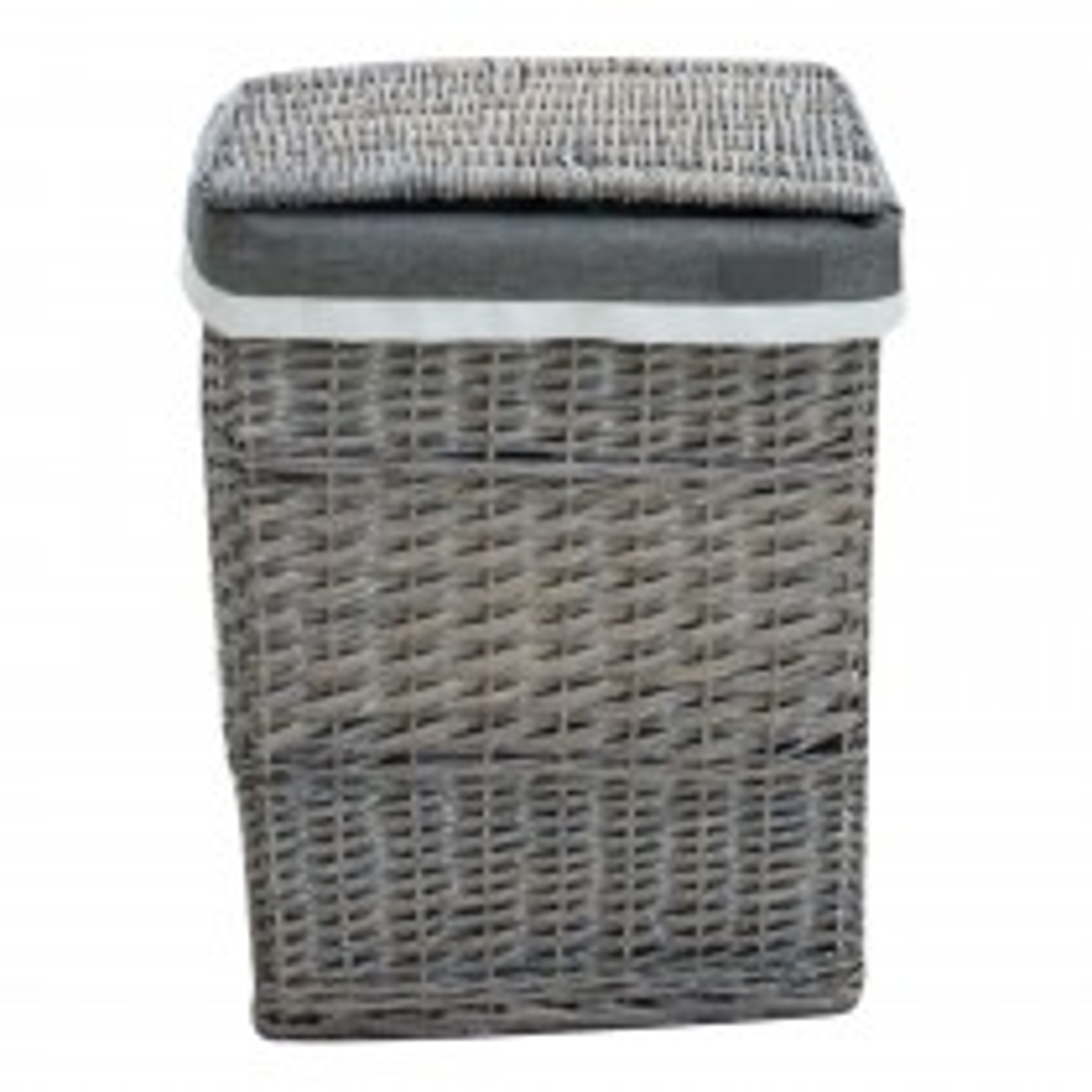 Large Laudary Basket, Grey