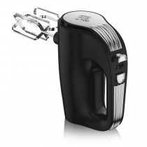 Swan 5 Speed Retro Hand Mixer, Black