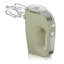 Swan 5 Speed Retro Hand Mixer, Light Green
