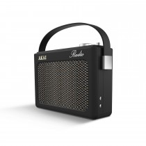 Akai Dab Retro Radio, Black