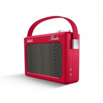 Akai Dab Retro Radio, Red