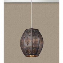 Lighting Collection Moroccan Ceiling Shade, Bronze